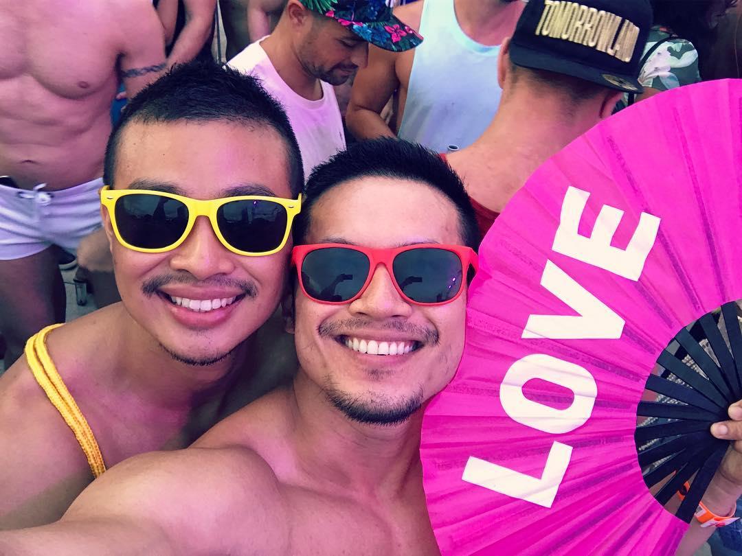 Gay Couple Instagram Nono Elvin Honeymoon