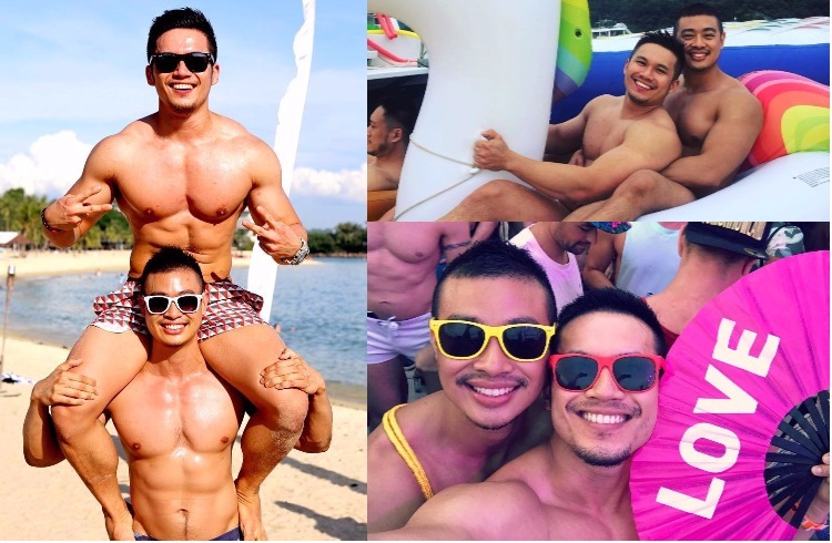 Super Cute Instagram Gay Couple Nono and Elvin