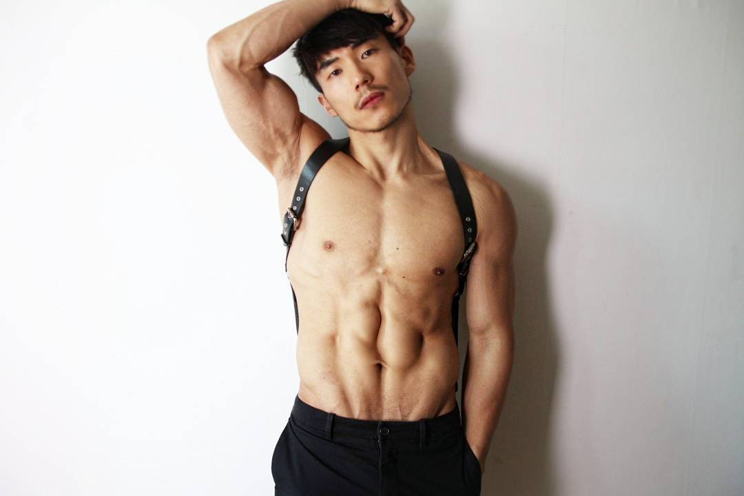 Hot Muscle Korean Boy Minsu Lee