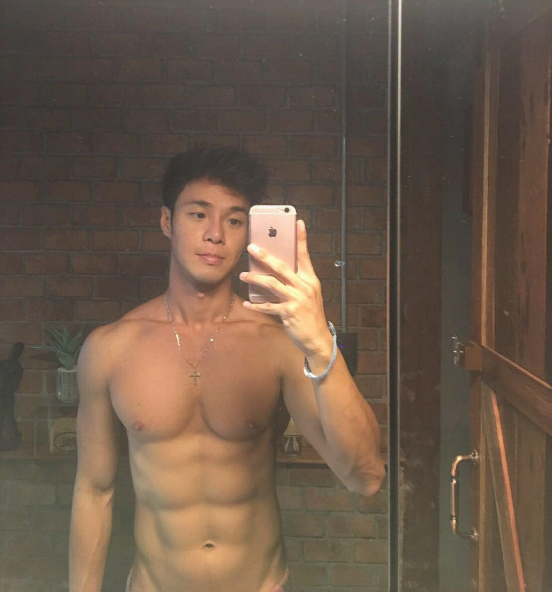 Hot Thai Man Selfie Nupan