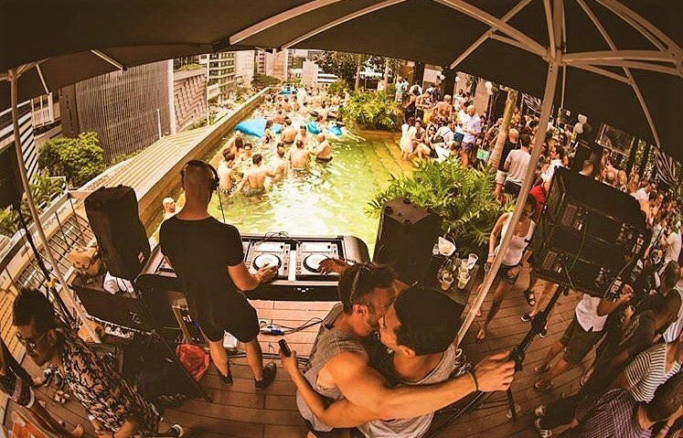 The Jock Shop Pool Party SO Sofitel Singapore