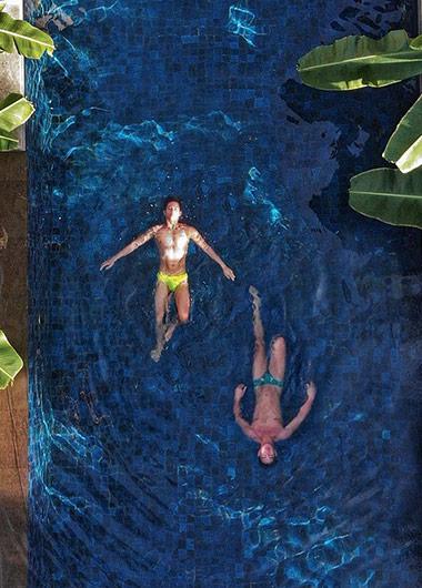 Gay Pool Villa Resort Bali Conrad