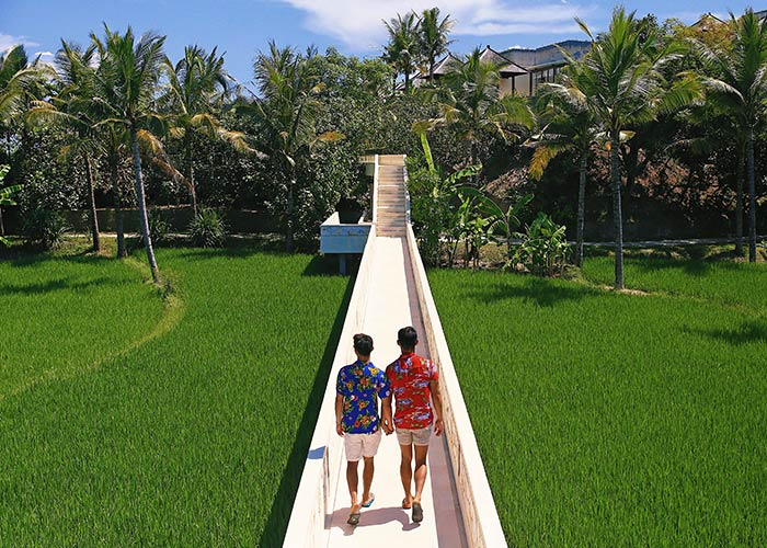 Komaneka-Keramas-Beach-panoramic-rice-paddy-fields-views-Bali-queer-destination
