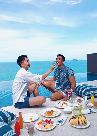 Romantic-Beach-Resort-for-Gay-Trvaelers-Conrad-Koh-Samui